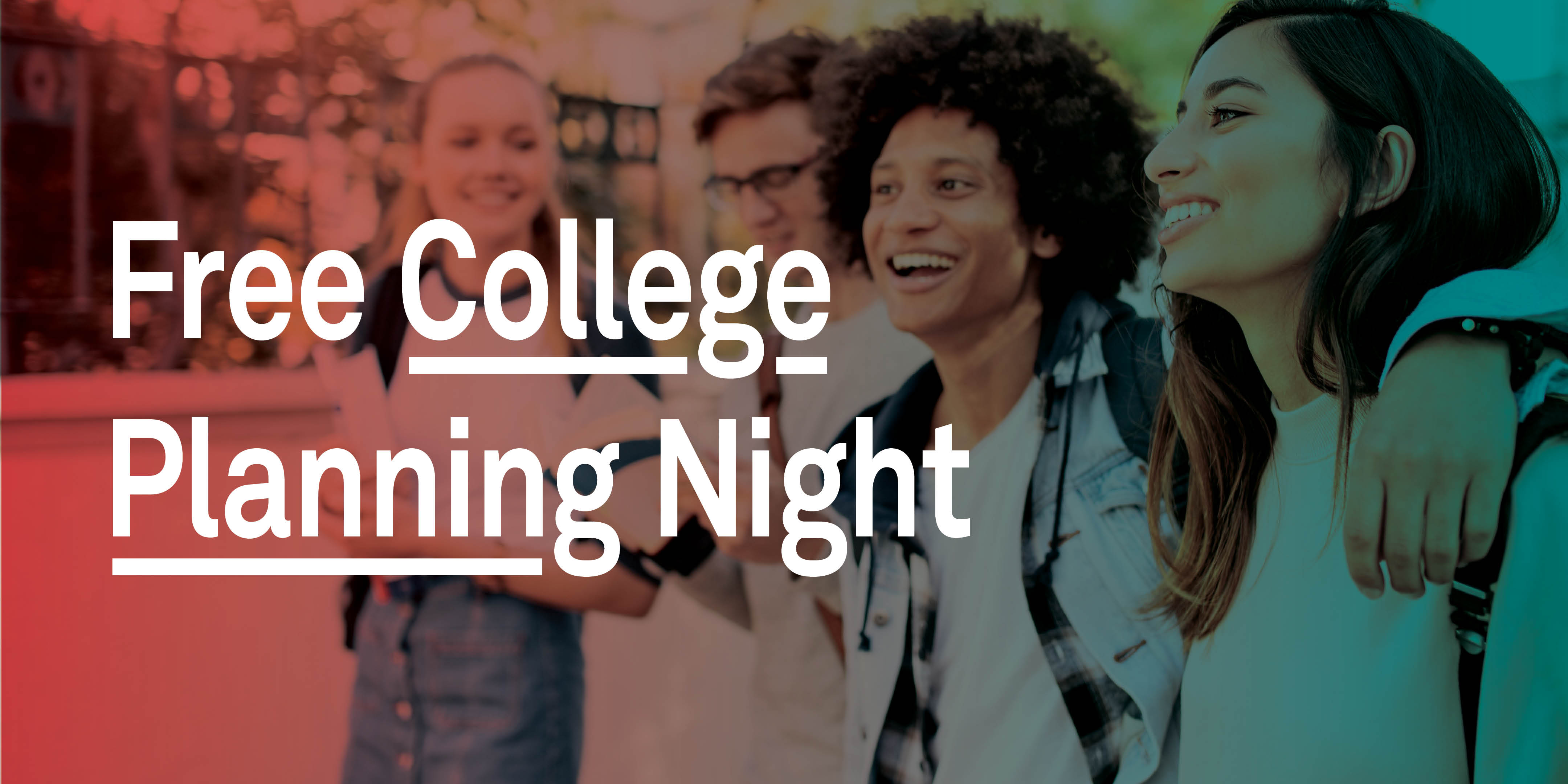 image link to Free College Planning Night on EventBrite