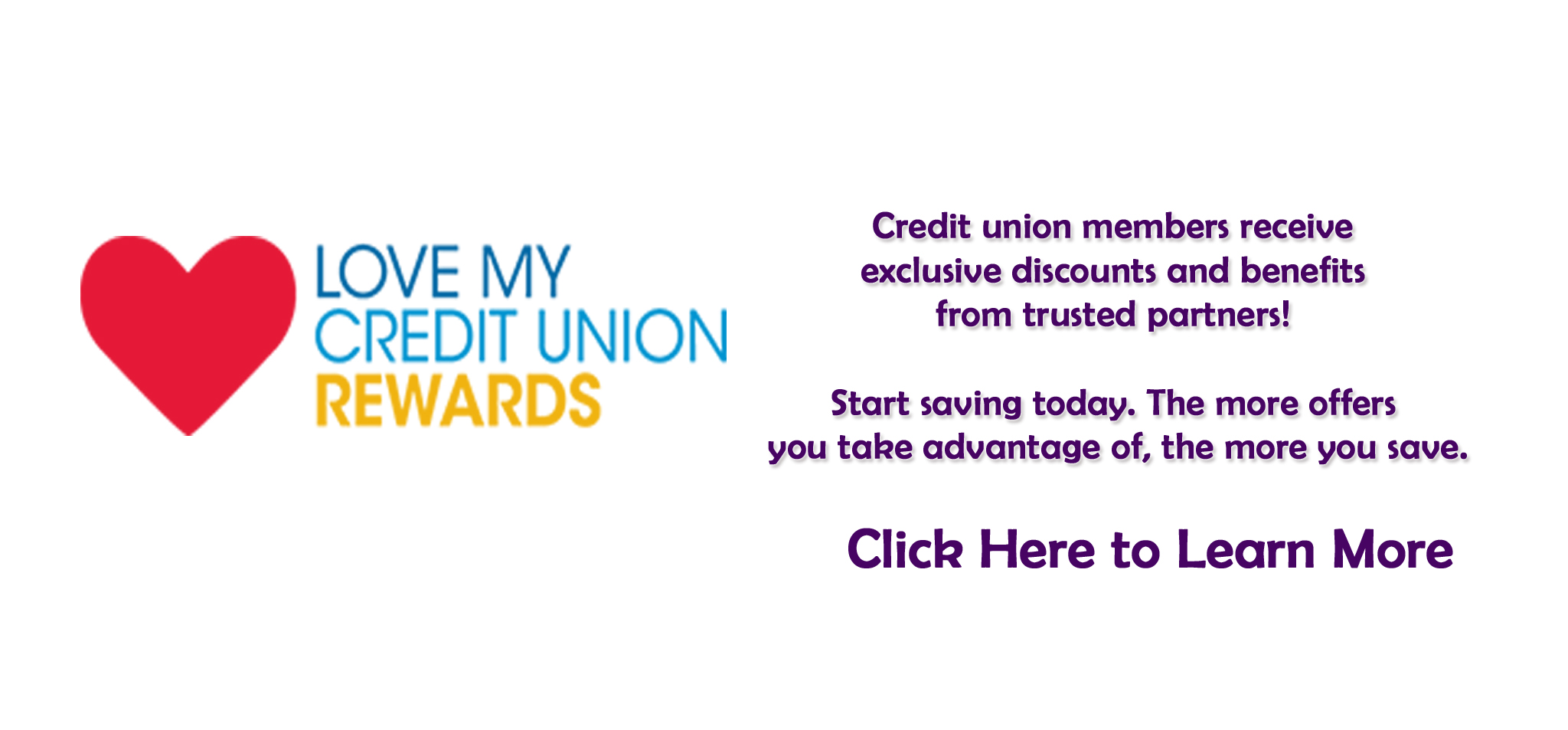 image link to the Love My Credit Union Rewards web site