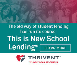 image link to Thrivent student loans web site